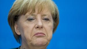 Bundeskanzlerin Angela Merkel (CDU) spricht am 23.09.2013 im Konrad-Adenauer-Haus in Berlin auf einer Pressekonferenz nach der Bundestagswahl. Foto: Christian Charisius/dpa